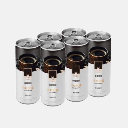 黑咖啡饮料 6连包 | 哥伦比亚原产地咖啡豆原液萃取