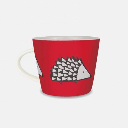 刺猬马克杯-多色 | 陶瓷材质洁白通透