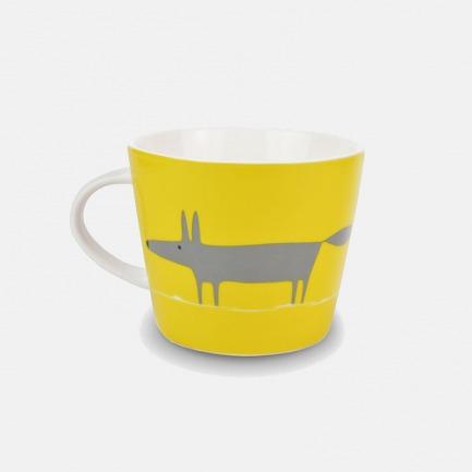 狐狸先生马克杯-多色 | 陶瓷材质洁白通透