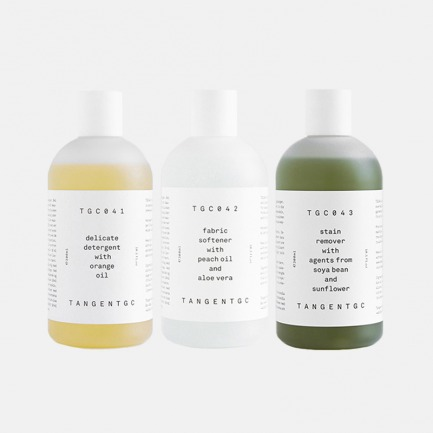 精致衣物洗护组合B | 天然纯植物洗衣液+柔顺剂+去渍液
