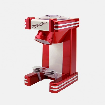 复古刨冰机冰沙机 简单易用 | 在家也能制刨冰 操作超简单 出冰细腻