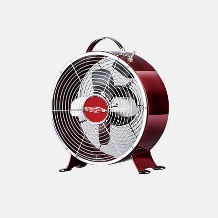 复古台式小风扇 小台扇闹钟扇 | 全金属复古设计 美国品质 稳定耐用