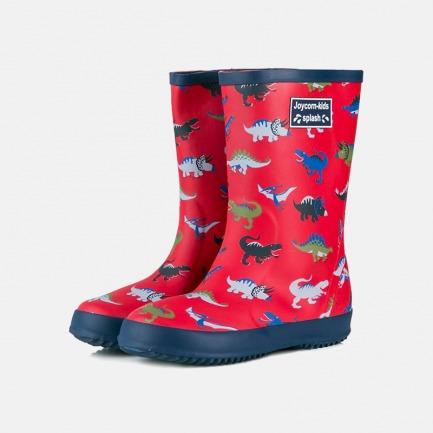 可爱印花儿童雨鞋雨靴   再也不怕雨天湿了鞋 好看舒适又安全
