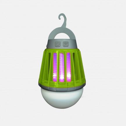 户外必备的物理灭蚊灯 | 紫外线引诱+电网击灭  远离蚊虫困扰