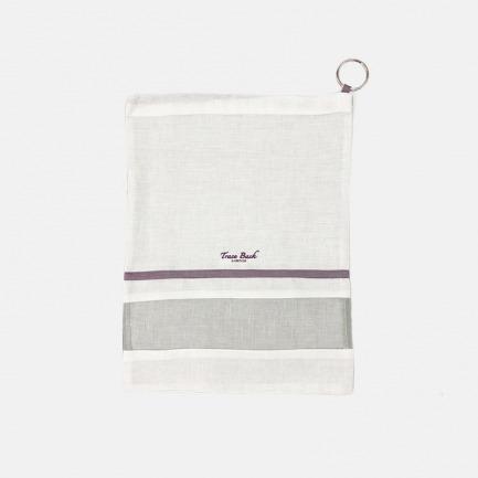 天然抑菌的多功能收纳袋 | 手工刺绣 舒适全亚麻材质