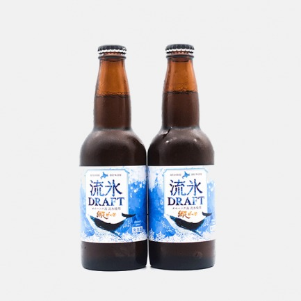 北海道海蓝色的啤酒 | 优选纲走麦芽 鄂霍次克海的流冰水