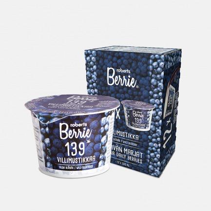 芬兰直采 野生蓝莓浆果饮 | 每杯含139颗蓝莓 新鲜营养
