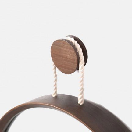 极简圆形挂衣钩 三色可选 | 竹木家饰 墙面点缀巧收纳