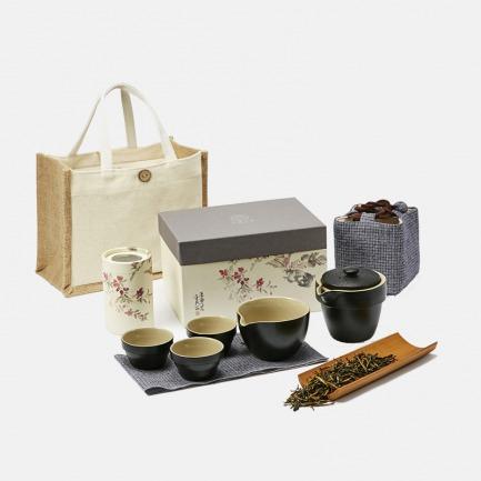 古树红茶一壶四杯礼盒装 | 品茗古树滇红 享一刻清闲