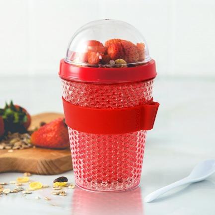 加拿大冷冻酸奶水果杯 | 夏日减肥水果餐的好伴侣
