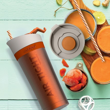 真空抗氧化保鲜杯-不锈钢 | 随身携带喜欢的果蔬汁