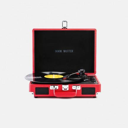 旅行箱便携唱片机 | 也是蓝牙音箱 随心播放