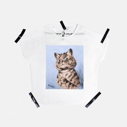 女士 Louis Wain Cat Peter T恤 | 原创设计师品牌 不撞衫