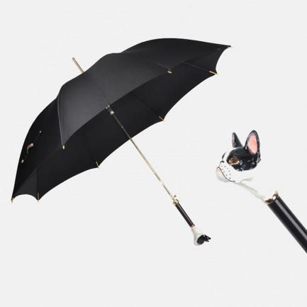 法斗高级手工定制晴雨伞 | 精致伞面 珐琅彩伞把