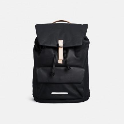 黑色简约双肩包/电脑包 | 时尚百搭 15寸背包 超能装