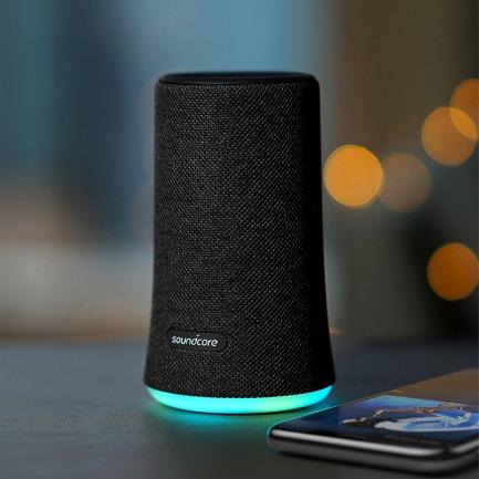无线蓝牙音箱 纵享声色 | 360度立体声+节奏霓虹