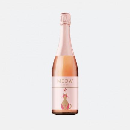 澳洲莫斯卡托桃红起泡酒 | 粉红小猫酒 花香果香满满