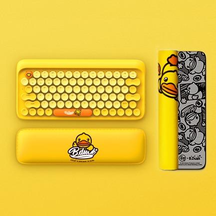 小黄鸭/熊本熊蓝牙键盘 | 圆点机械键盘 兼容多系统