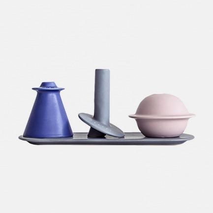 陶瓷星球小花瓶  | 趣味行星造型 小巧好看