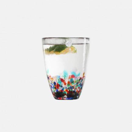 日本进口七彩玻璃杯 | 纯手工制作 七彩缤纷