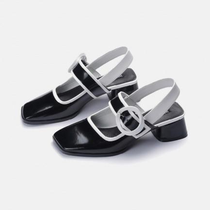 白日梦黑白玛丽珍鞋 | 小众独特又具艺术感的美鞋