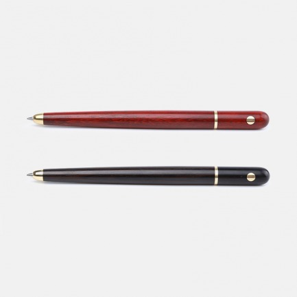 东方美学润笔-中性笔 | 紫光檀/科檀实木打造