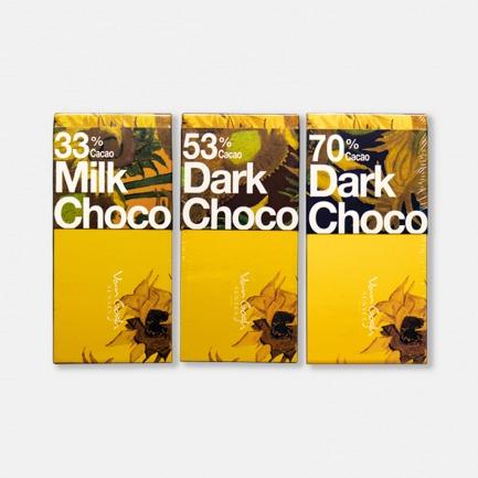 梵高向日葵巧克力 | 颇具艺术创意性的美食