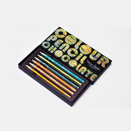 梵高铅笔巧克力 | 颇具艺术创意性的美食