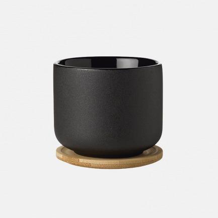 磨砂粗陶水杯-带托盘   设计中的生活美学器具