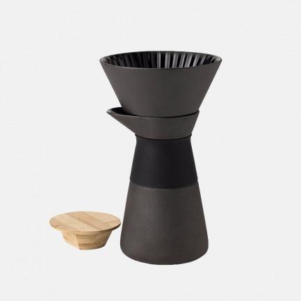 陶瓷手冲咖啡壶600ml | 设计中的生活美学器具
