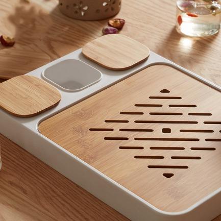 创意设计茶盘 自带小食盒   陪你畅享美好下午茶时光