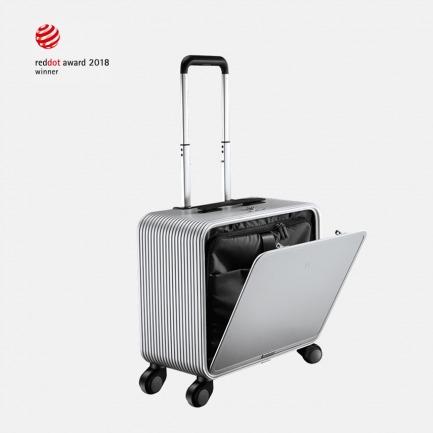 轻金属竖开合旅行箱 16寸 OSLO系列 | 曜石黑/玫瑰金/钻石银三色
