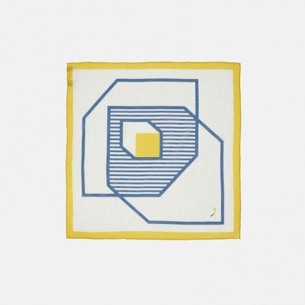 原创品牌图案构成小方巾 | 不对称的构图 简洁易搭配