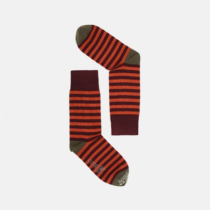 经典百搭男士条纹手工棉袜 | 柔软亲肤 吸汗防臭