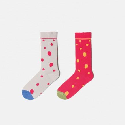 原创设计无序波点系列袜子 | 波点图案 更灵活 更特别