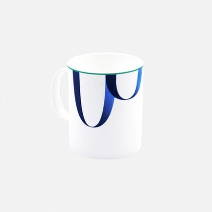 蓝靛系列 优质骨瓷马克杯 | 质感极佳 图案简约优雅