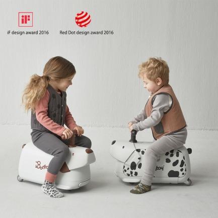 儿童旅行箱滑步车   荣获德国iF奖、红点奖