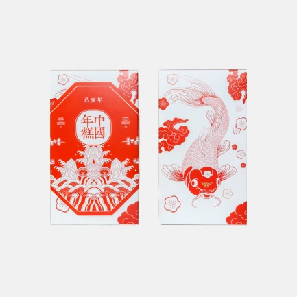 中国锦鲤新春软糯年糕 | 以锦鲤为型 寓意吉祥美好