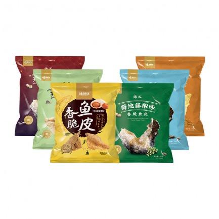 香港人气小吃香脆鱼皮   风靡中国 新加坡的爆款零食