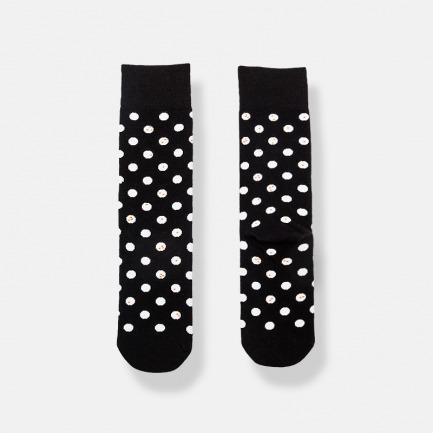波点秋冬潮流中筒袜 | 时髦从好看的袜子开始