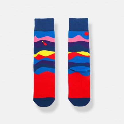 OCEAN秋冬潮袜中筒袜 | 行走在人群中的亮点