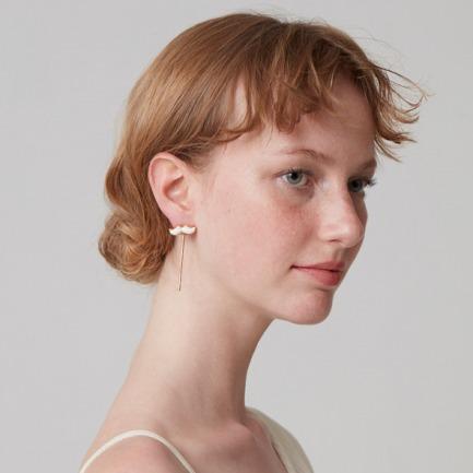 原创设计 黑白胡子耳环 | 耳畔生姿 在人群中脱颖而出