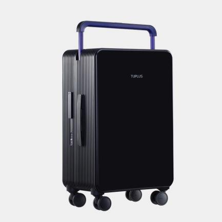 极简风旅行箱 平衡系列素黑   轮廓别致有型 个性撞色设计