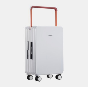 极简风旅行箱 平衡系列荼白   轮廓别致有型 个性撞色设计
