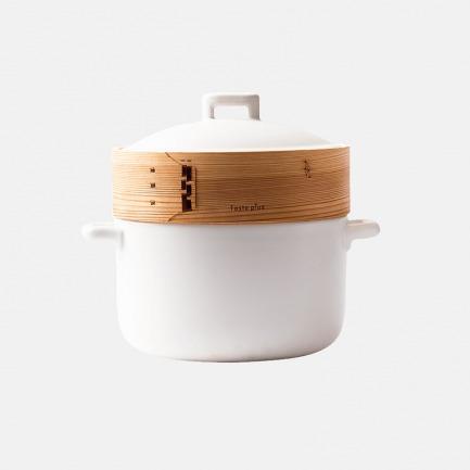 能蒸焖炖煮的全能砂锅3.3L | 一锅五件套 搞定健康菜肴