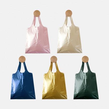 时尚纽扣便携购物包 | 小巧便携非常好收纳