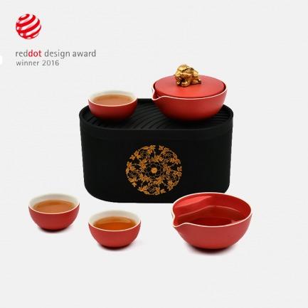 宫廷系列 富贵吉象茶器礼盒 | 荣获德国红点奖 好看又实用