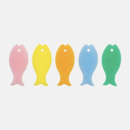 日本魔力海绵擦-5只小鱼   清水就能轻松去污