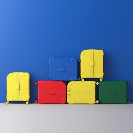 STREETBOX系列旅行箱   时尚街头风 色彩张扬