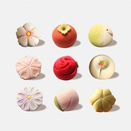 纯手工制作 和菓子礼盒  | 纯手工制作高颜值无油甜品
